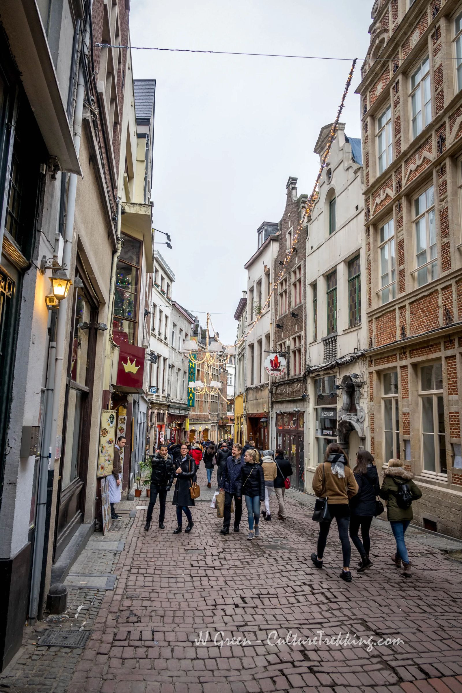 A Self-Guided Tour of Brussels