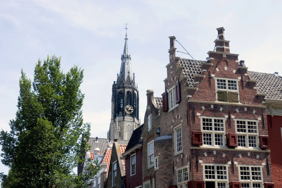A Delft day trip from Amsterdam - New Church Tower