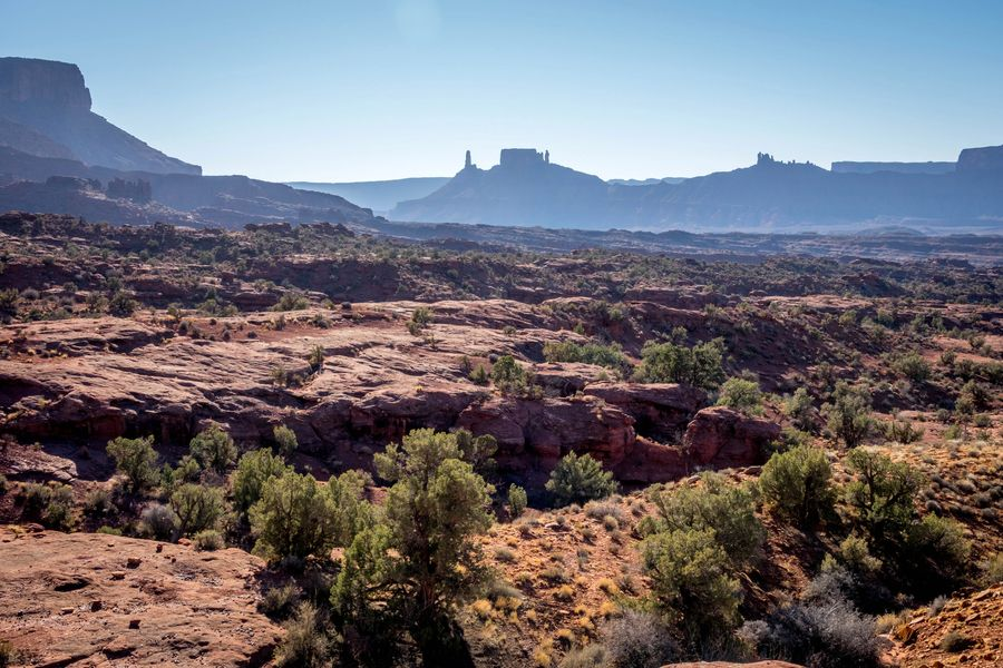 View from Fisher Towers in Moab
