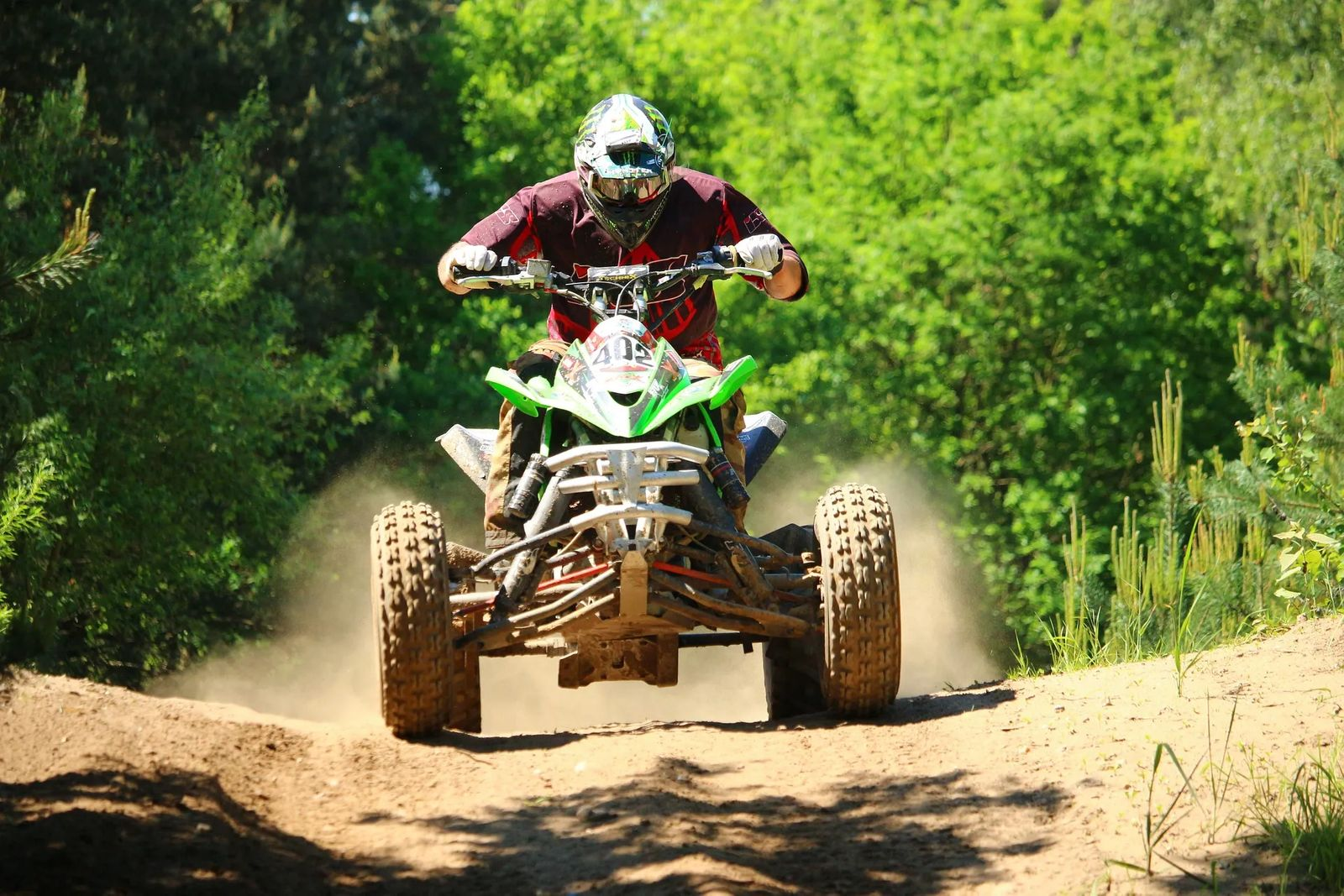 rules of camping in utah atv racing through trees