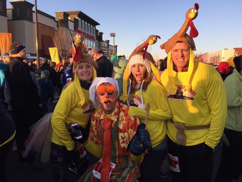 Thanksgiving activities near Salt Lake City - Turkey Trot
