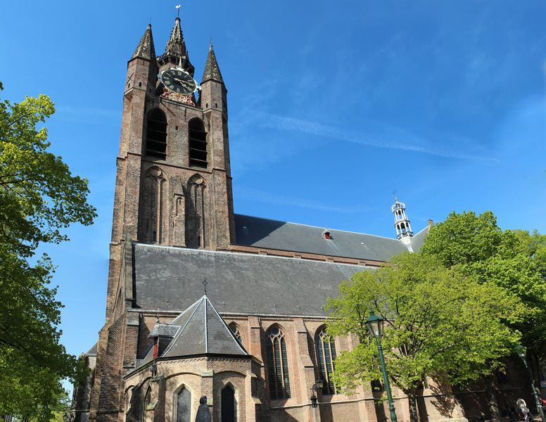 A Delft day trip from Amsterdam - Oude Kerk - the old church