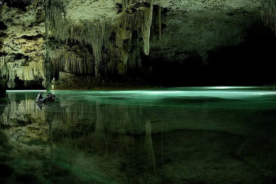 Rio Secreto - The Secret River in Mexico
