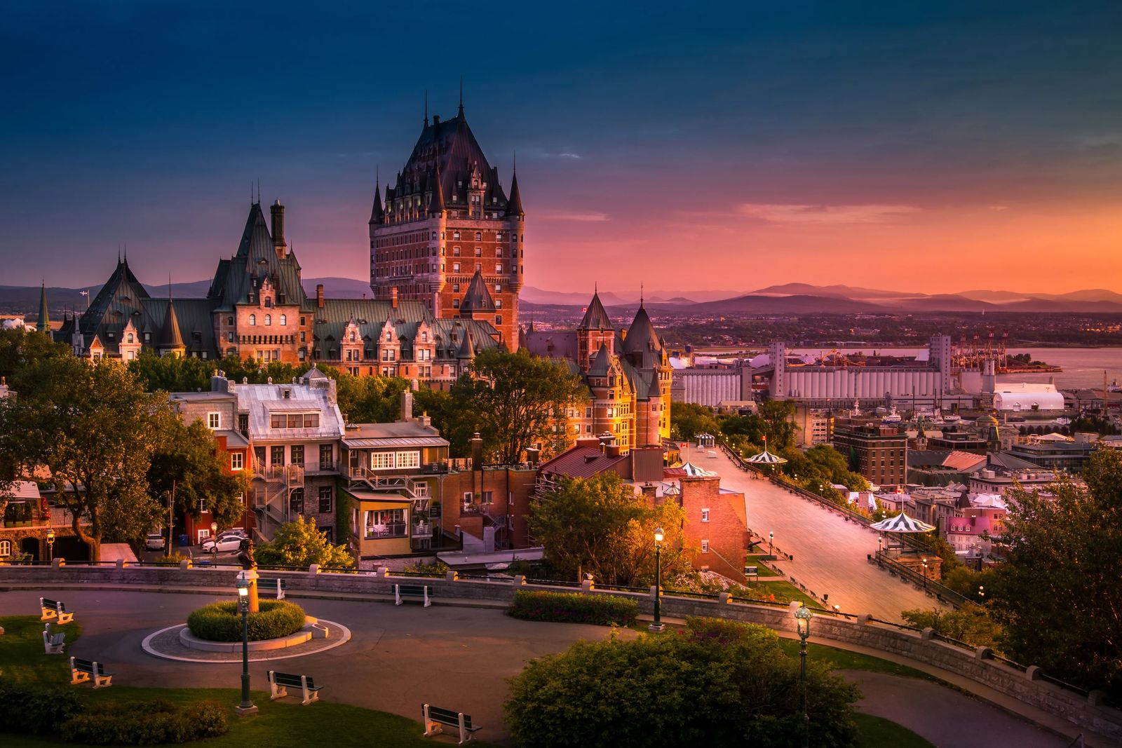 Quebec city, a month to month travel guide