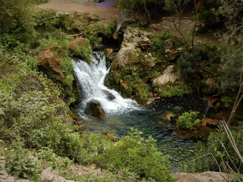 Hiking to Akchour Waterfalls in Morocco
