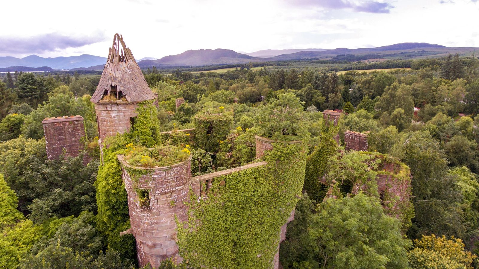 Loch Lomond and Trossachs National Park Castles