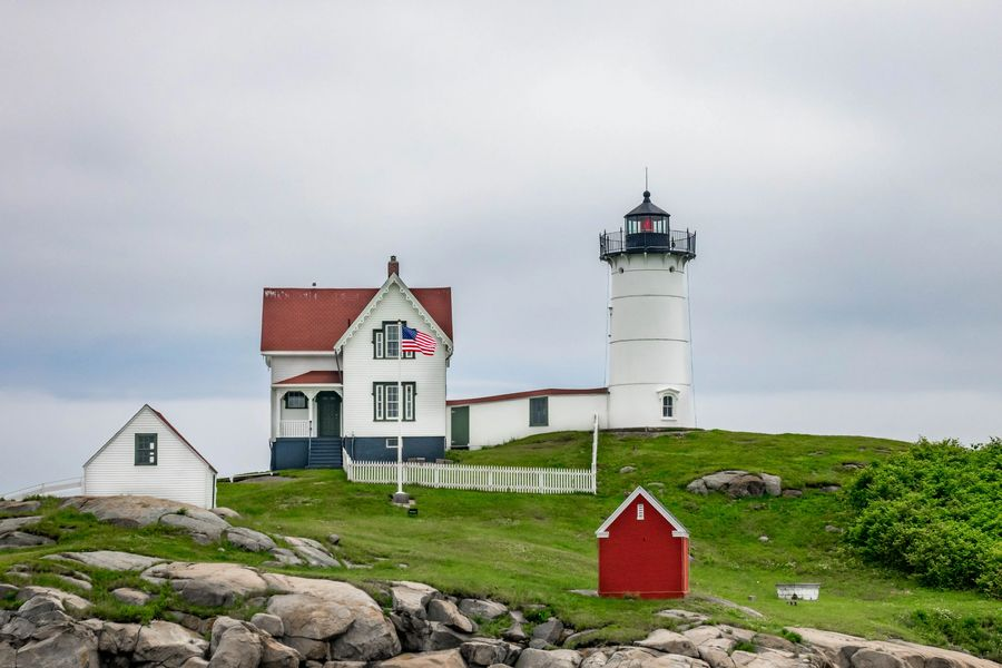 New England Coast Tour - the Nubble Lighthouse