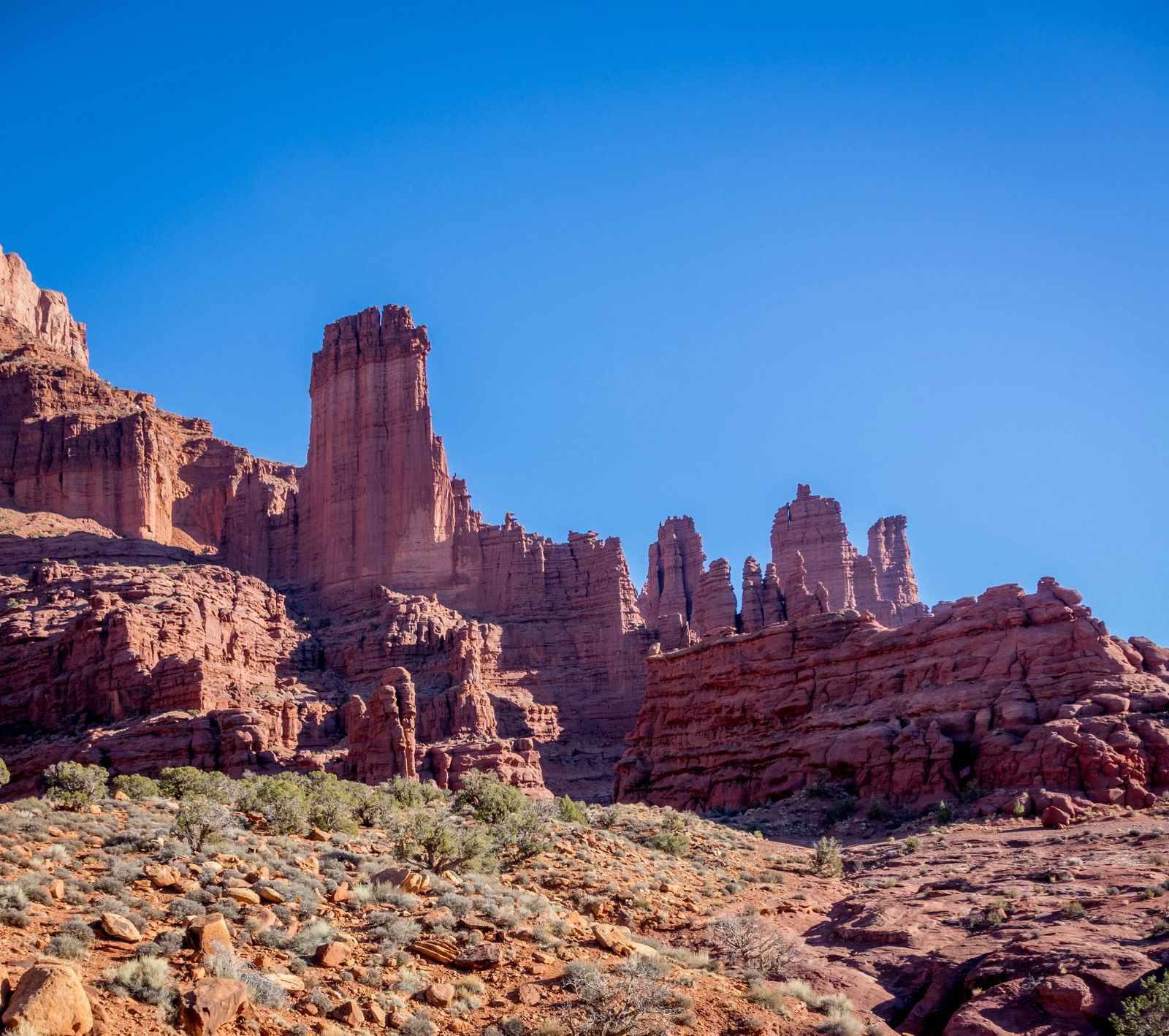 Fisher Towers in Moab