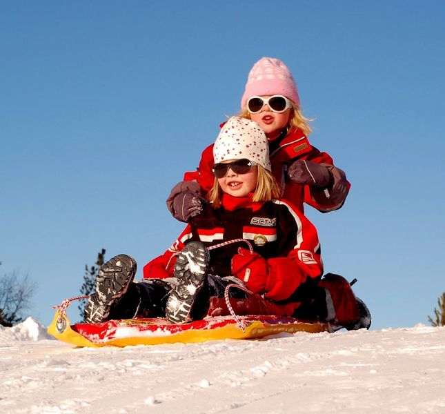 Thanksgiving activities near Salt Lake City - Sledding