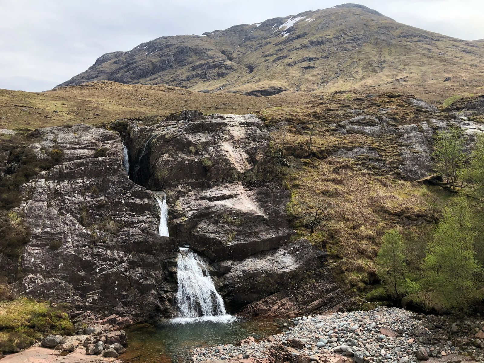 Loch Lomond and Trossachs National Park  Waterfall